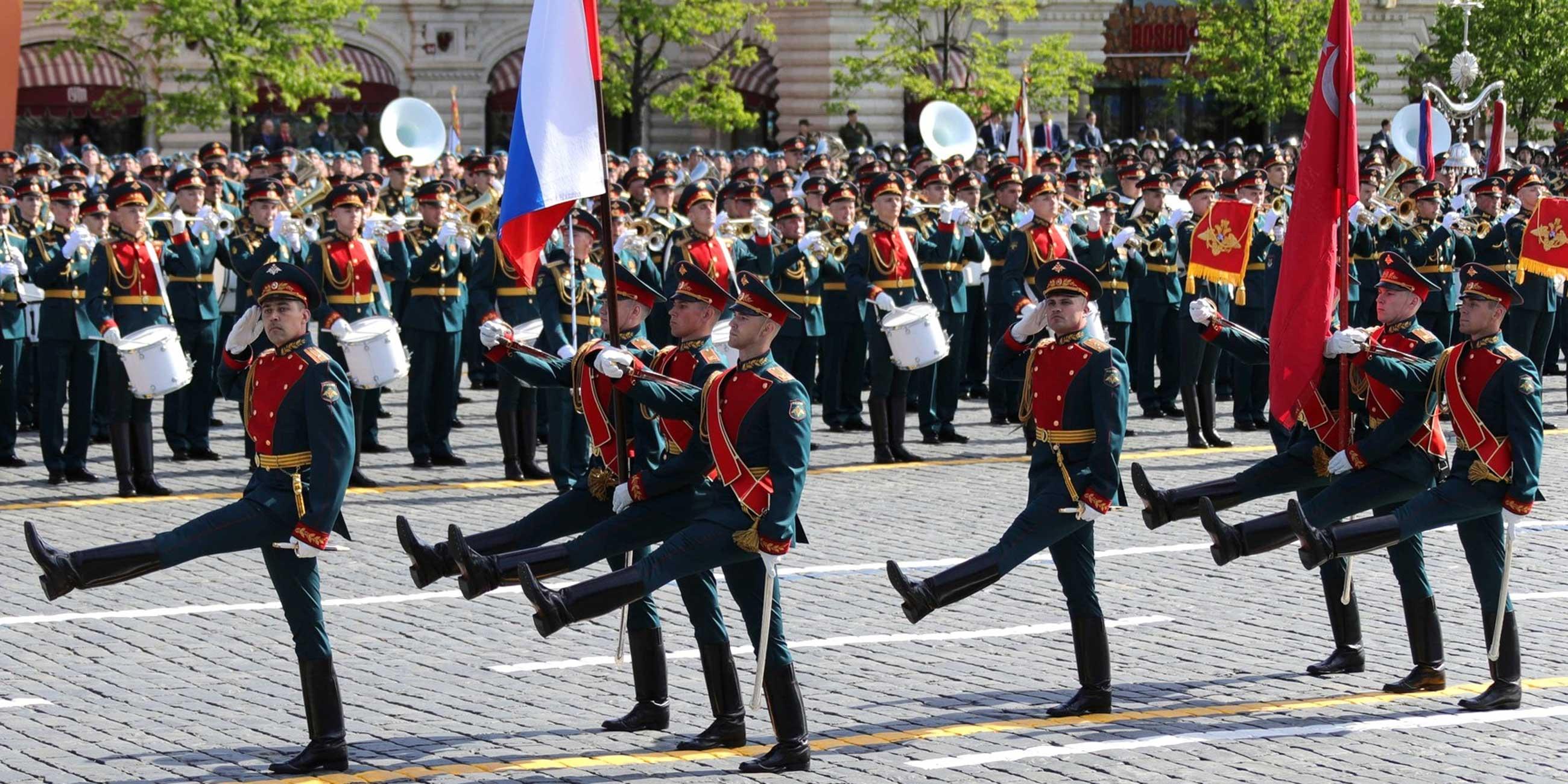 Каждый год 9 мая на Красной площади проходит военный парад.Фото: globallookpress.com