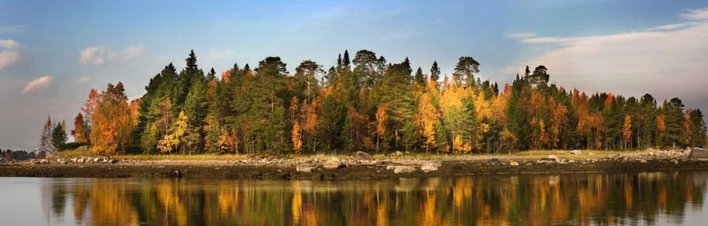 Карелия осенью