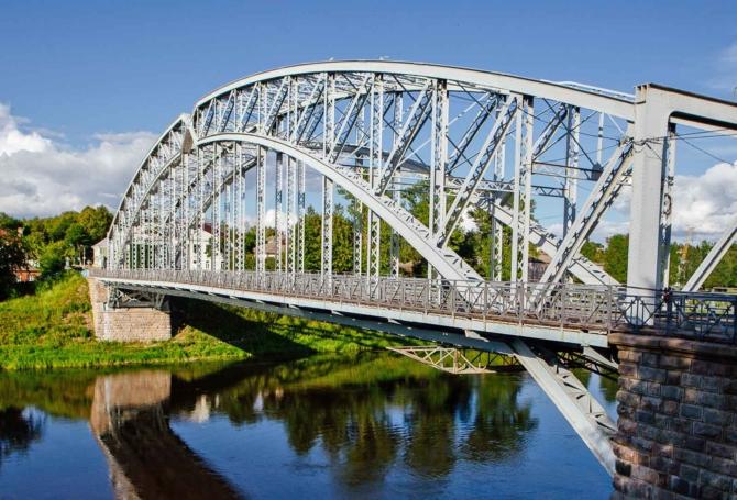 Мост в Боровичском районе Новгородской области