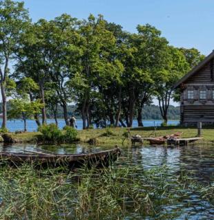 деревянный дом кижи
