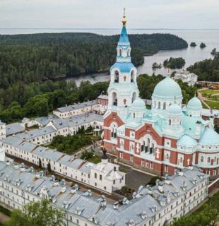 монастырь на острове валаам