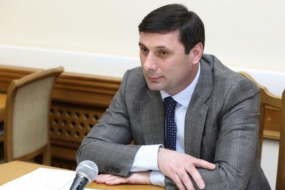 Билал Омаров. Фото: администрация главы Дагестана.