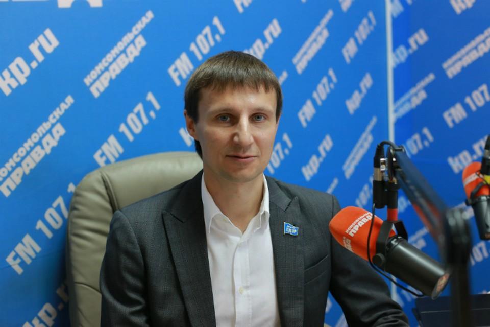 Александр Глисков, депутат Законодательного собрания Красноярского края