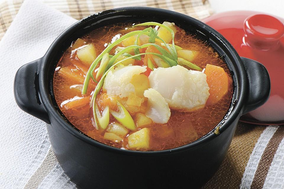 Острый томатный суп с имбирем Фото: фотобанк Лори, Fotolia/PhotoXPress.ru.