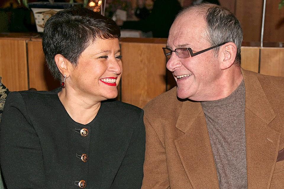 Эммануил Виторган с супругой Ириной Млодик.