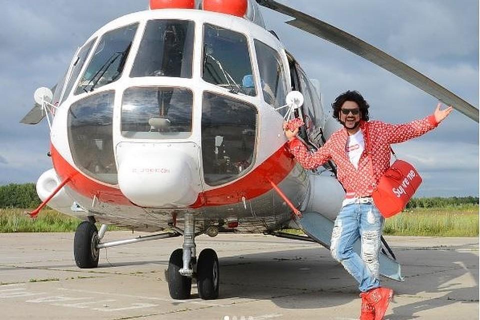 Прилетела на вертолете секс