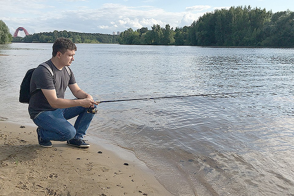 Я на рыбалке и секс