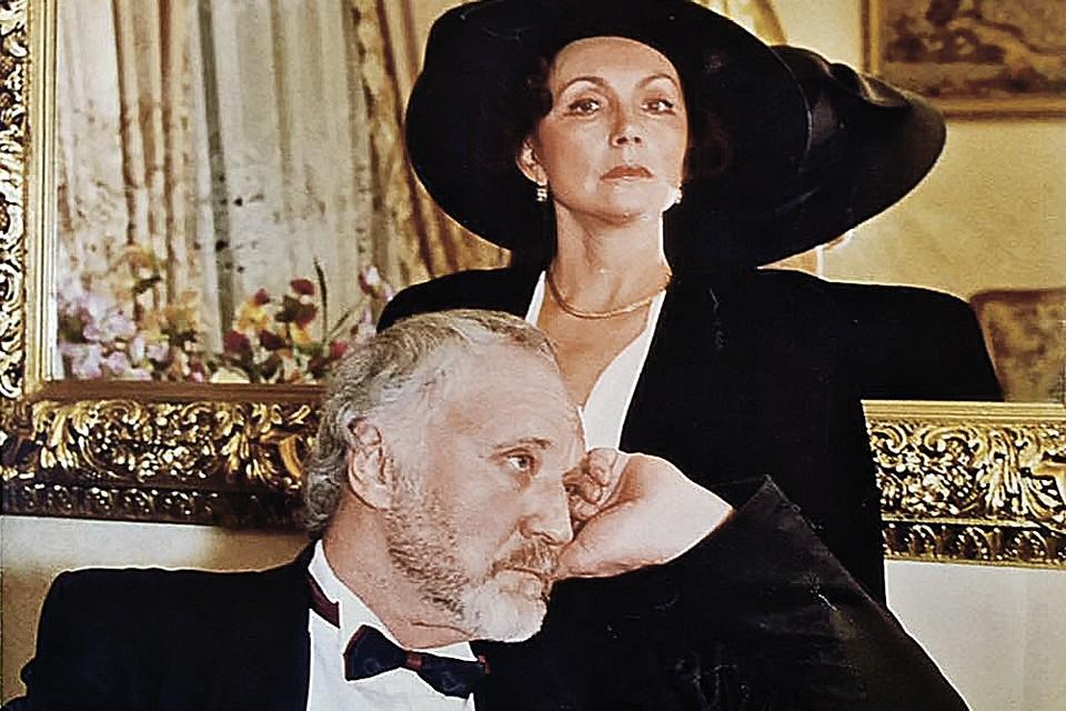 Артист с женой Галиной Сизовой.