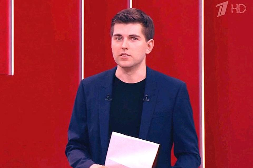 """Дмитрий Борисов в студии телешоу """"Пусть говорят"""""""