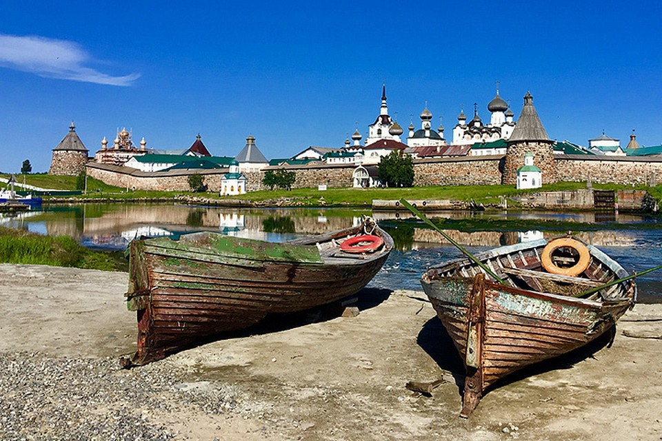 Соловецкие острова каждый год привлекают толпы туристов.