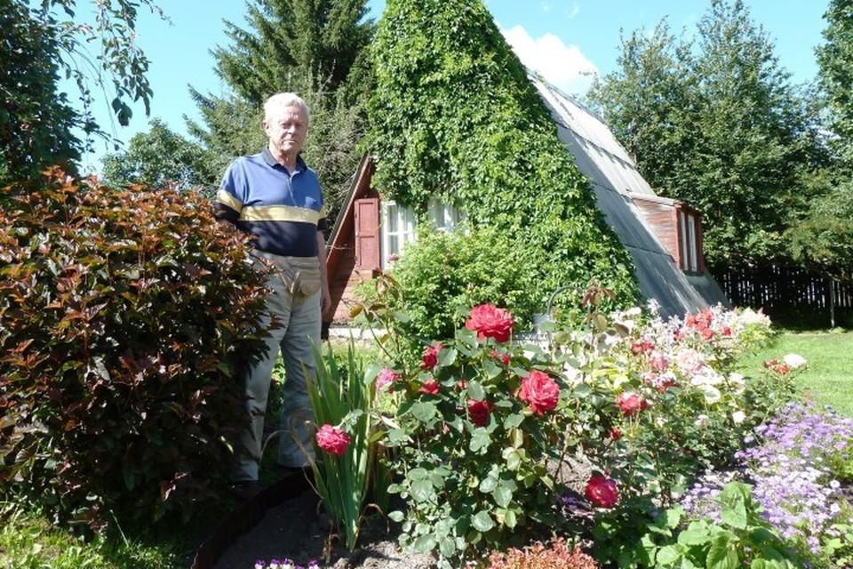 Владислав Гордо на своей загородной даче