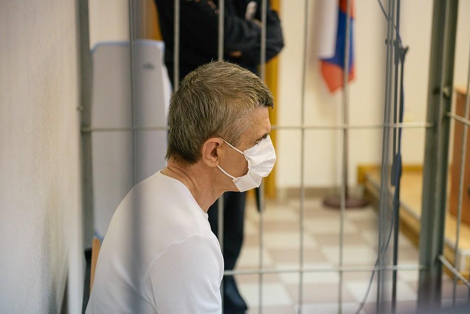 Сергей Наскин - единственный из подсудимых, что находится под стражей