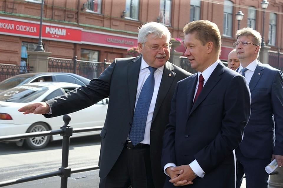 Алексей миллер член единой россии