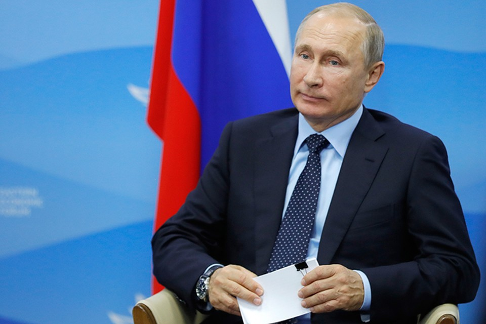 Сделать Дальний Восток одним из крупных транспортных узлов мира предложил президент Владимир Путин в ходе заседания Госсовета на Восточном экономическом форуме. Фото Михаил Метцель/ТАСС