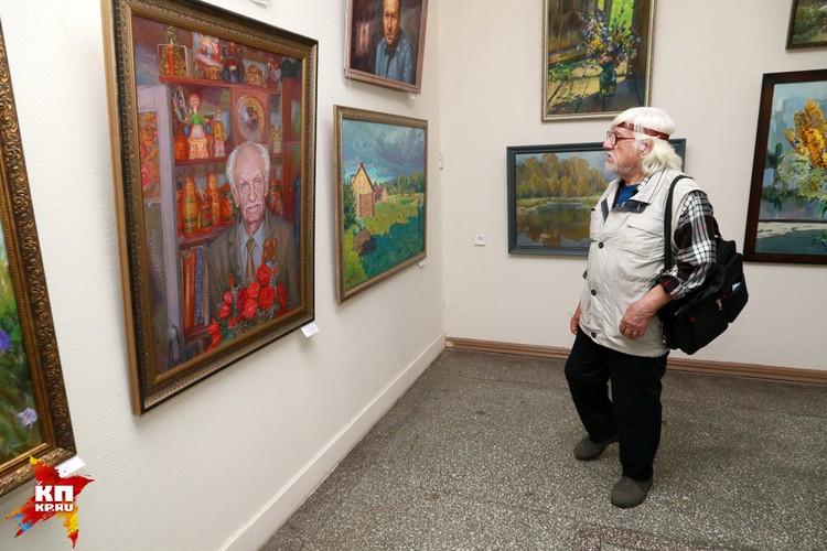 Ежегодную выставку «Осень – 2017» посвятили 80-летию Алтайского края