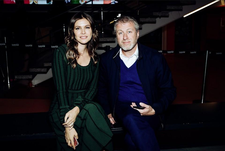 Роман Абрамович и Дарья Жукова. ФОТО предоставлено организаторами