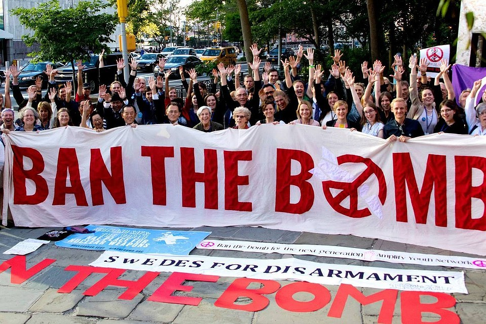 Фото: International Campaign to Abolish Nuclear Weapons/ Facebook