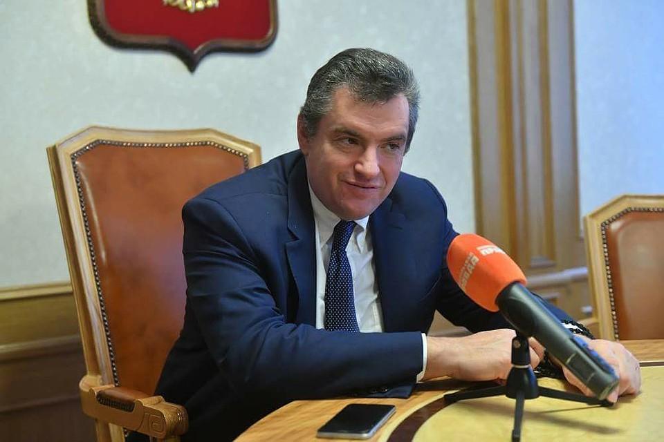 Глава Комитета Госдумы по международным делам Леонид Слуцкий.