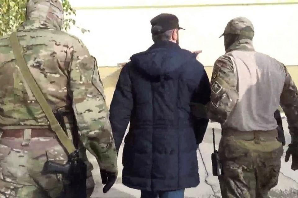 Фото: кадр с оперативного видео УФСБ по РК и Севастополю
