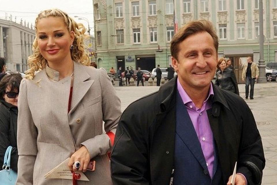 Мария с бывшим гражданским мужем Владимиром Тюриным
