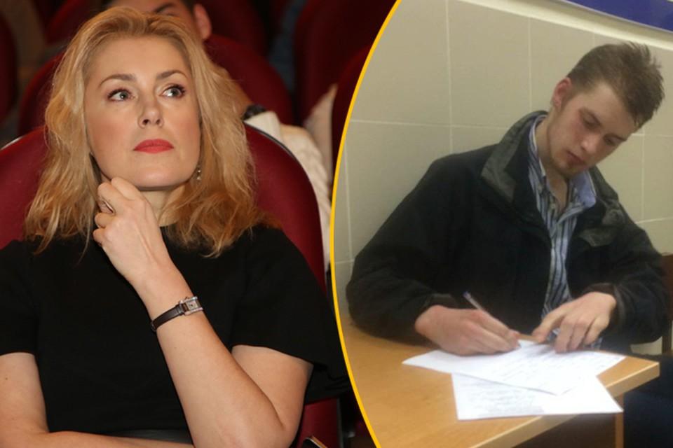 Сын Марии Шукшиной Макар оказался в отделе полиции Фото: Борис КУДРЯВОВ, twitter.com/abunyasha