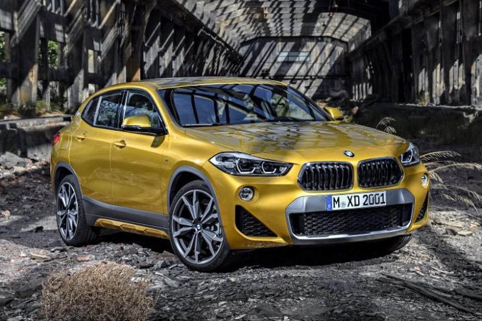 Размер колес BMW X2 – от 17 до 20 дюймов