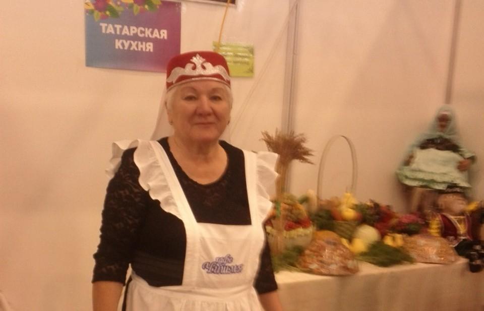 Самая гостеприимная хозяйка кафе «Чишмя» Фаузия Зульбухарова