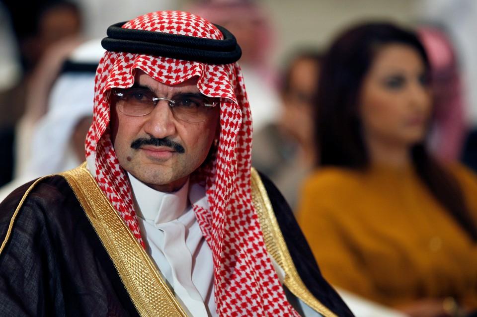 Среди арестованных - один из самых богатых саудовских миллиардеров, принц аль Валид бин Талал
