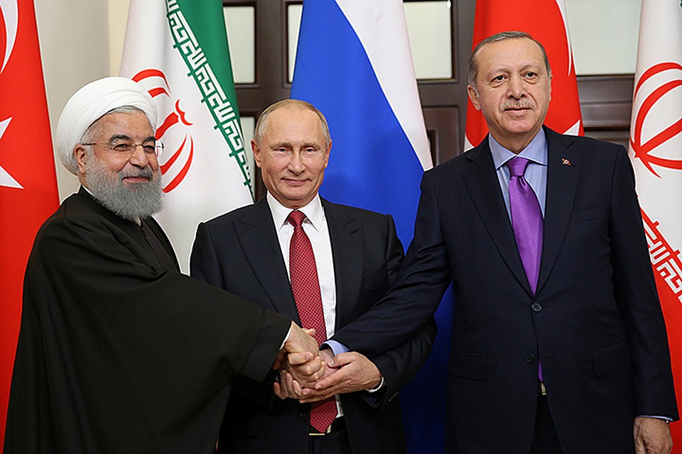 Благодаря усилиям России Ирана и Турции удалось предотвратить распад Сирии