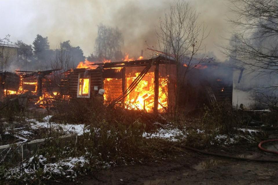 В Ярославле в последнее время массово горят расселенные дома.