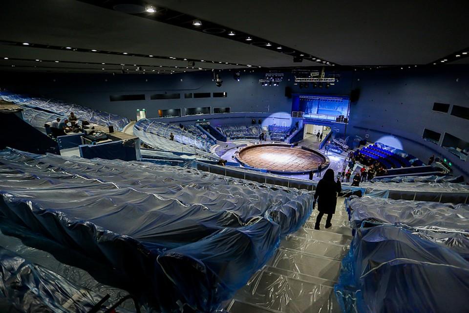 Арена обновленного Владивостокского цирка выдержит вес около 70 слонов
