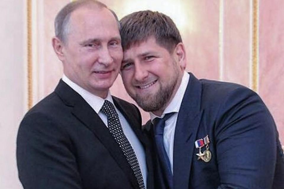 Bildergebnis für Путин ушел от ответа на предложение Кадырова о трех президентских сроках