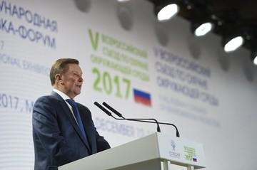 Сергей Иванов: В Год экологии государство и бизнес начали совместную работу, рассчитанную на годы вперед