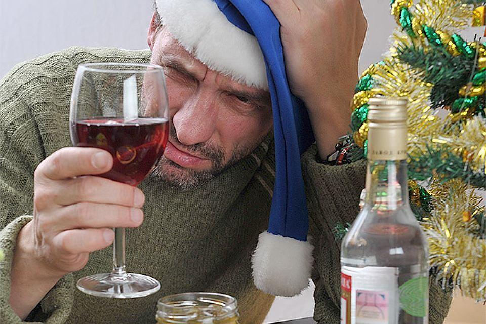 Новый год пьянки картинки