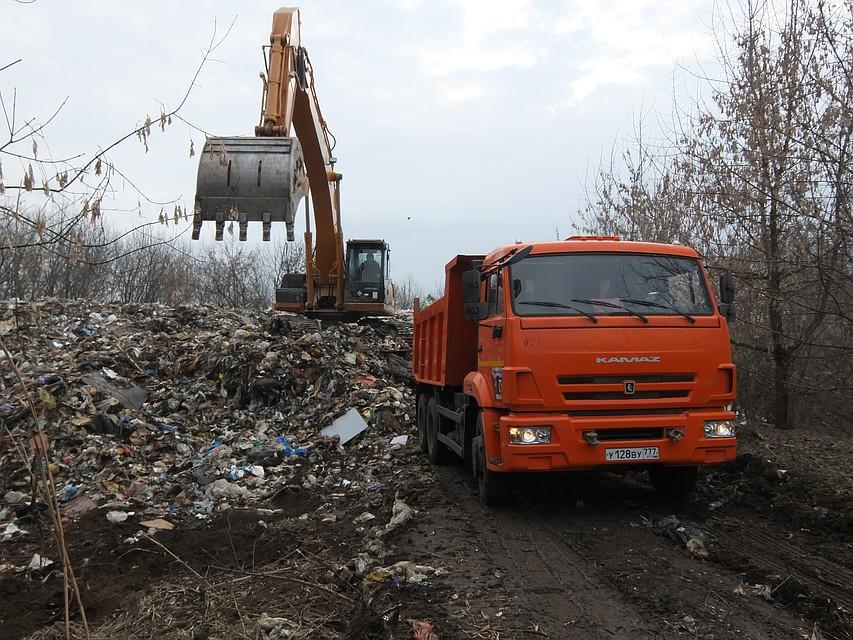 мусорные войны под петушками в лесу хотят сделать свалку на 600