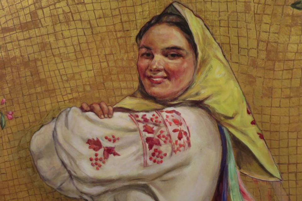 24 фрески работы художника Виктора Коновалова были одним из главных украшений станции
