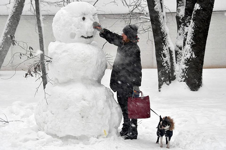 В Москве ожидается до -10 градусов