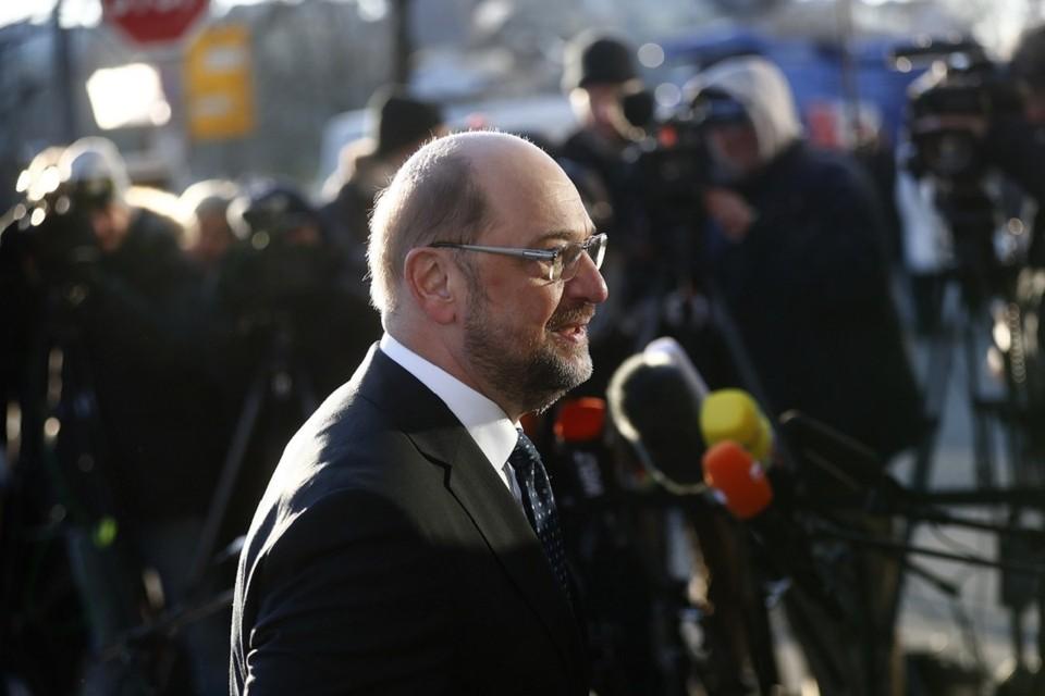 Лидер Социал-демократической партии Германии Мартин Шульц