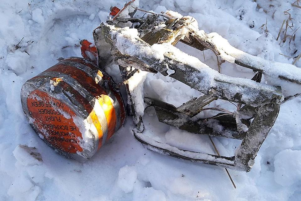 Бортовой самописец разбившегося Ан-148. Фото: МАК