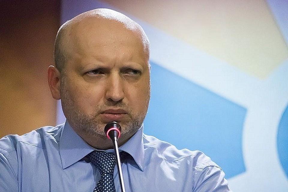 Секретарь Совета нацбезопасности и обороны Украины Александр Турчинов. Фото: ZUMAPRESS.com