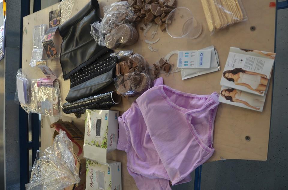 Кокаин был спрятан в воске для депиляции Фото: Уральское таможенное управление