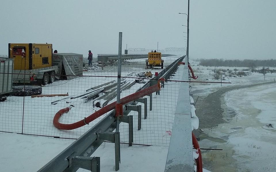 Лукашенко дал указание в этом году построить мост под Житковичами через Припять. Фото: vk.com/ztk_online