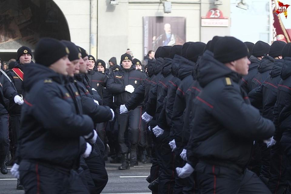 В прошлом году милиция праздновала 100 лет.