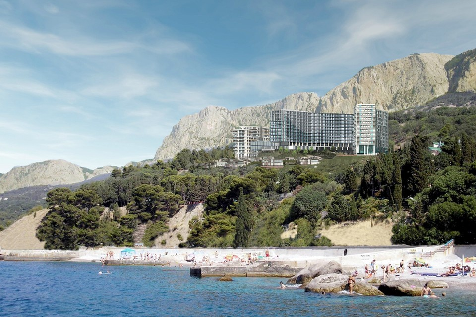 В 2018 году на Южном берегу Крыма компания сдаст первые корпуса нового апарт-отеля «Парковое»