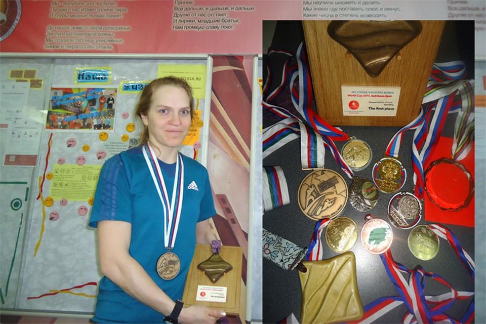 Биатлонистка из Еврейской автономной области стала первой, кто получил паралимпийские медали в Пхенчхане