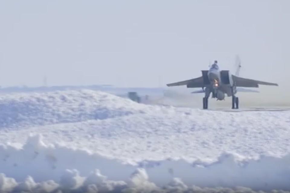 Скриншот видео запуска ракеты