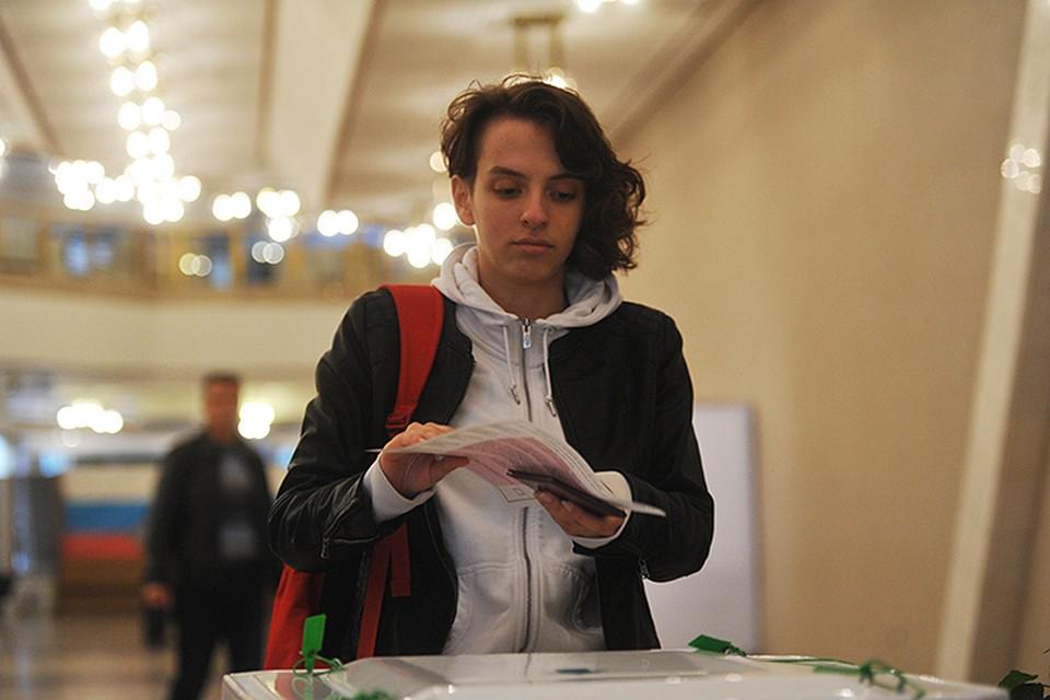 На избирательных участках занимались сексом