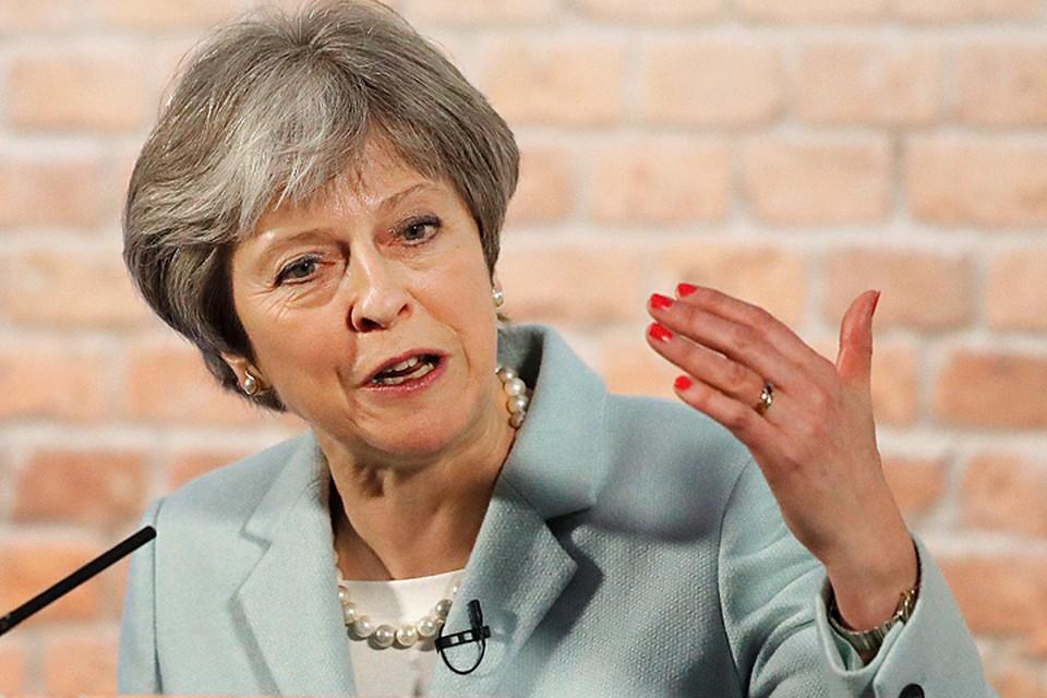 Сегодня Мэй публично объявила об «ответных» шагах Англии против Москвы