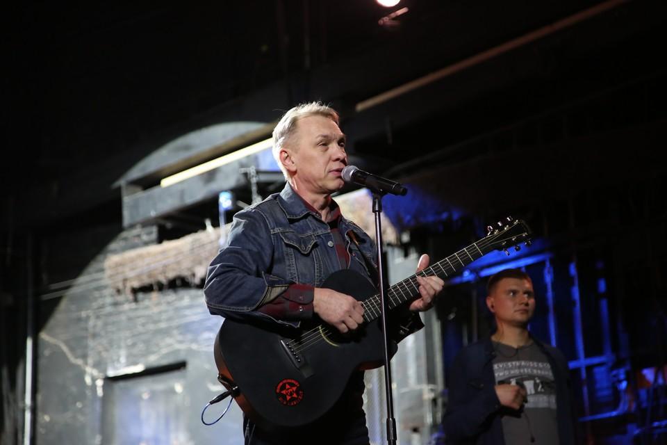 Советский и российский музыкант Александр Скляр