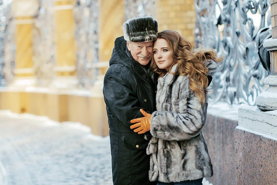 Иван Краско со своей супругой Натальей Шевель, Фото: Мария ПОЛЯНСКАЯ